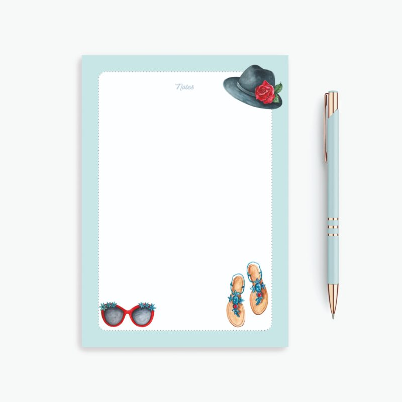 Travel Lists Notepad - Summer is here