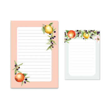 Stationery kit – Citrus Memos