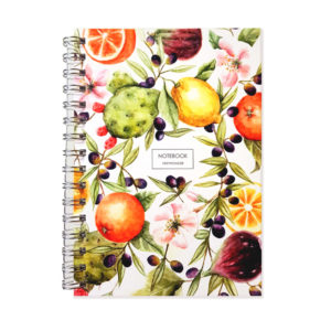 Summer italian flavours è un quaderno ad anelli super colorato e allegro
