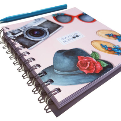 Traveller's Notebook to collect all your travel memories, decorate it and keep it to remember all important moments.