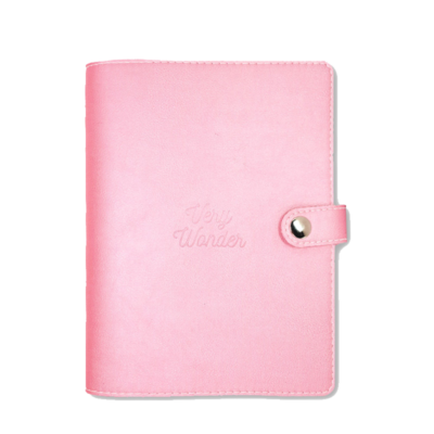 2020 pink planner with perforated sheets weekly view monthly view