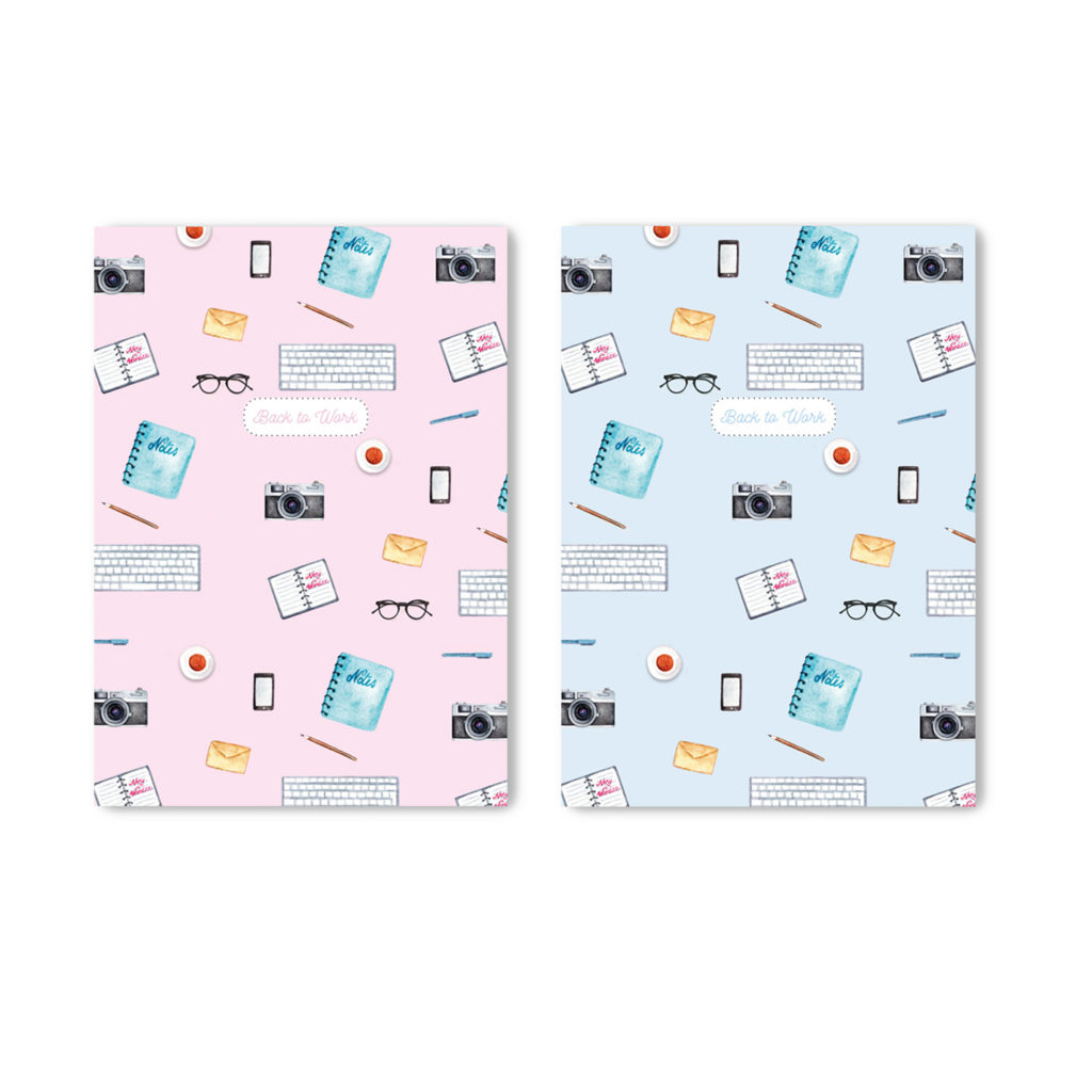 """""""Back to Work"""" journals are great for planning, organizing and writing down your daily life"""