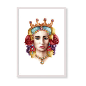 Sicilian Woman is a fine art print perfect to decor your home, office or studio. It is printed in Italy with the highest quality materials