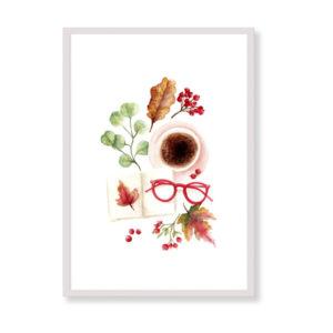 Afternoon in Central Park è una stampa artistica per decorare le pareti di casa o del tuo ufficio. E' una stampa in acquerello realizzata in Italia