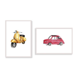 """A real representation of """"La Bella Vita""""! Don't miss these items to make your environment funnier and more italian?"""