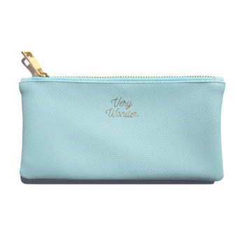 Light Blue Pouch
