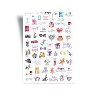 Yearly Planner Stickers - A Year of Wonder