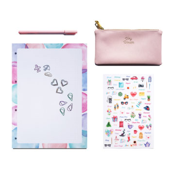 Stationery Kit – Back to WonderColours Pink