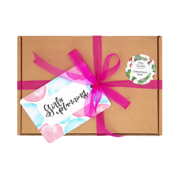 Christmas Box – Girl of Planning