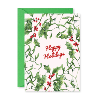 Greeting Card – Holly