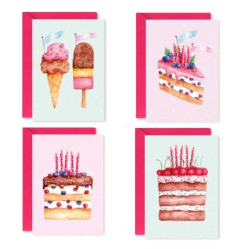 Greeting Card – Sweet Box