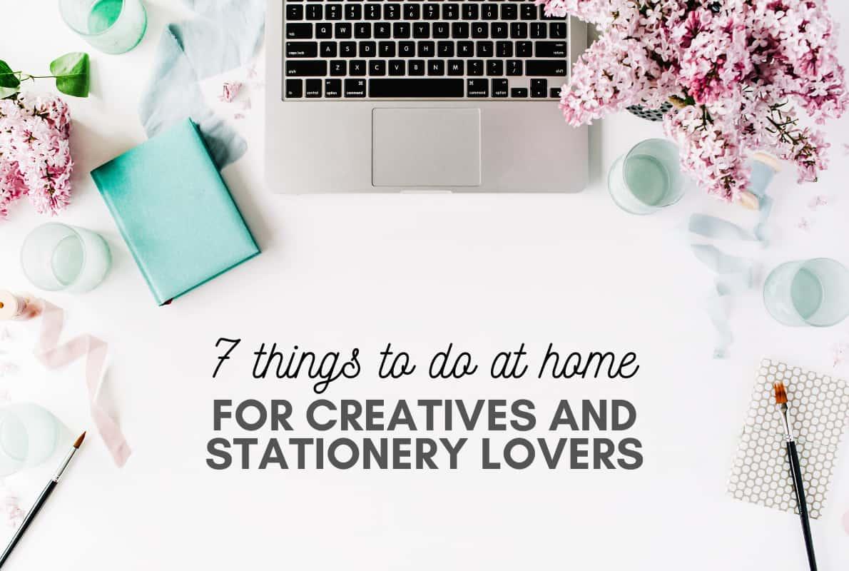 Attività creative da fare in casa per gli amanti della cartoleria
