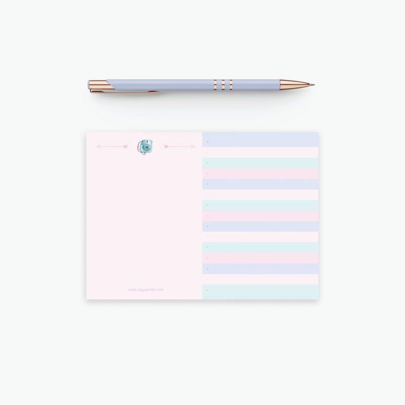 Blocco per fare liste - Mini Summer Lists