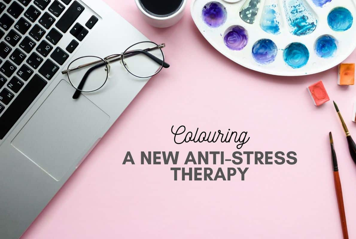 Colouring: a new anti-stress therapy