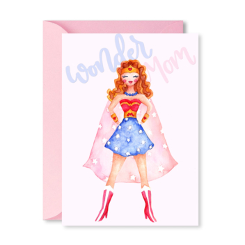 Greeting Card – Wonder Mom