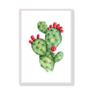 Art Print - Prickly Pear Tropical Canvas Art