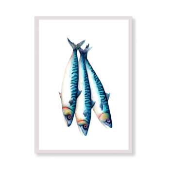 Art Print – Mediterrean Mackerels