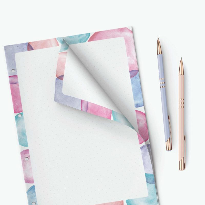 Dotted Pages Notepad - WonderNotes