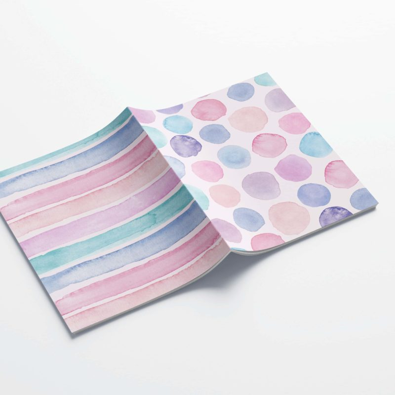 Double Cover Notebooks - WonderColours
