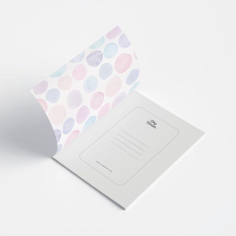 Quaderno con doppia copertina - WonderColours