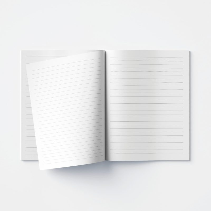 Double Cover Notebooks - WonderColours