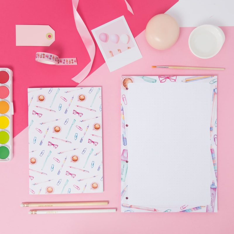 Double Cover Notebooks - Colorful Notebook