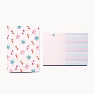sized pocket stationery kit