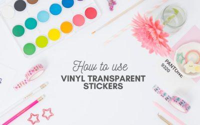 Come usare gli stickers adesivi colorati