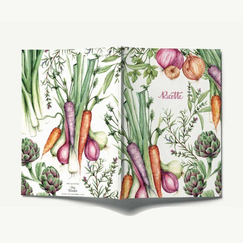 Quaderno per scrivere ricette