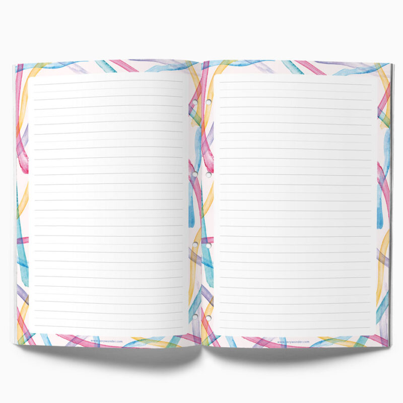 Handlettering Excersise Notepad