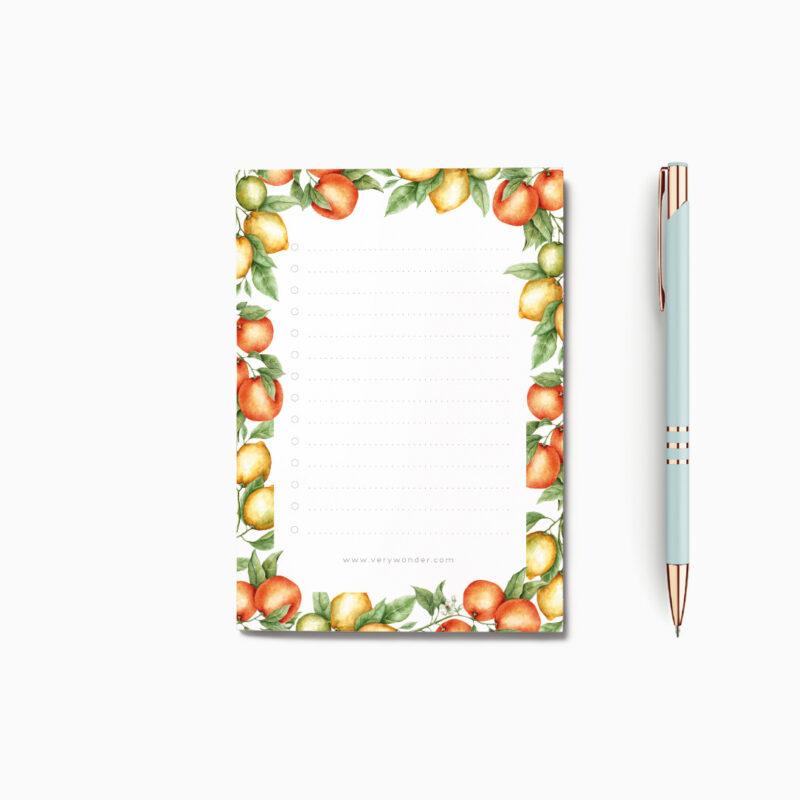 Piccolo Notes Citrus