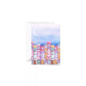Cartolina di auguri - Cielo stellato