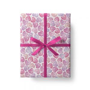 fogli di carta regalo colorati