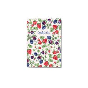 quaderno per confetture e marmellate