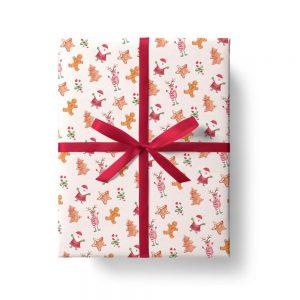 Carta regalo con Babbo Natale